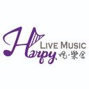 Harpy LIVE MUSIC logo