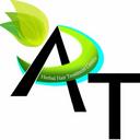 AT 中草藥護髮中心 logo