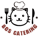80s catering logo