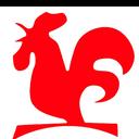 強記 logo