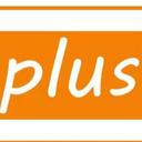 Plus 染護髮專門店 logo