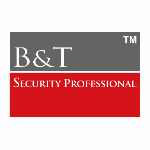 B & T Security logo