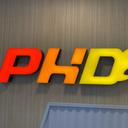 PHD薄餅博士 logo