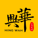 與華美食 logo
