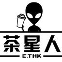 E.Tea 茶星人 logo