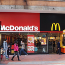 McDonald's at Kings logo