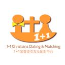 1+1 Christians Dating & Matching logo