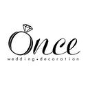 Once Wedding Decoration logo