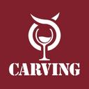 Carving logo