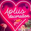 Aplus wedding decoration logo