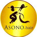 ASONO hair 苑髮館 logo