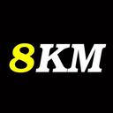 8KM logo