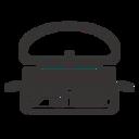 嘉寶漢堡 logo