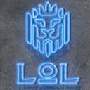 LOL 釀酒獅 logo